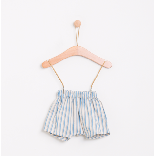 Saudade stripes shorts