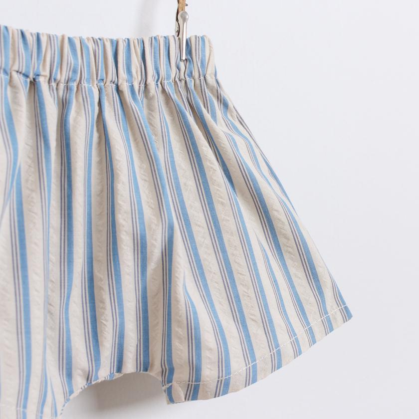 Saudade stripes shorts