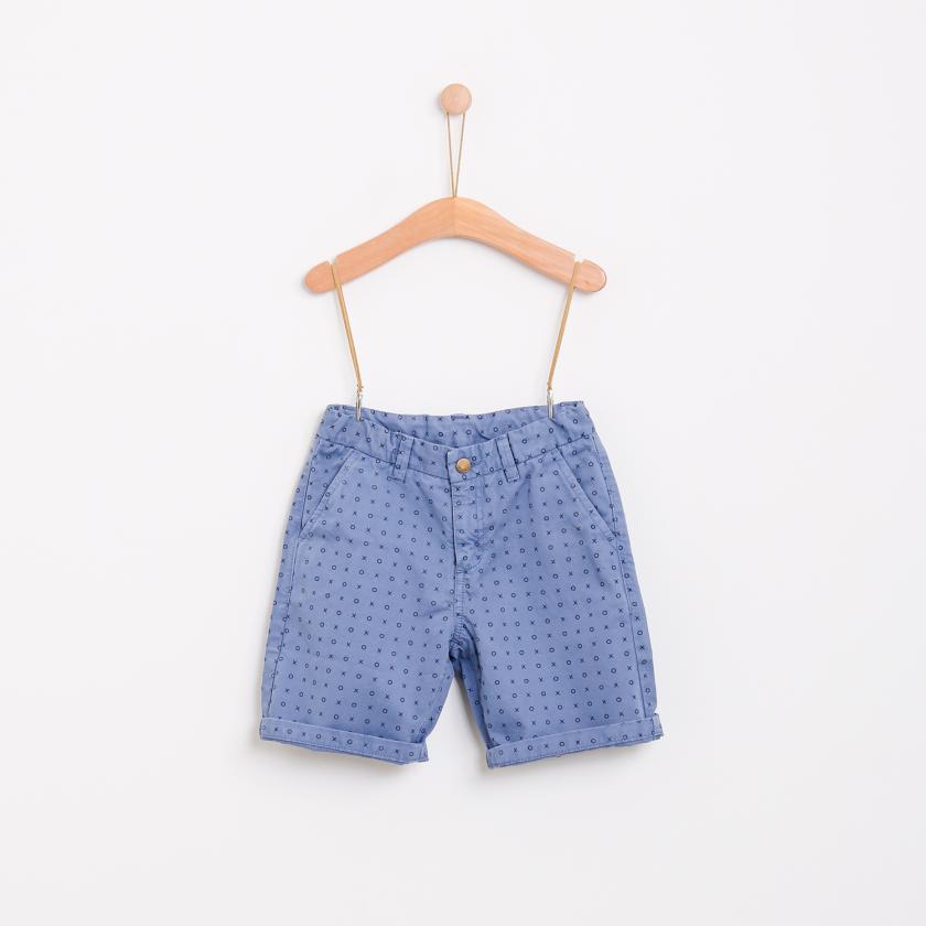 Tic-tac-toe chino shorts