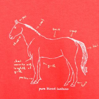 T-shirt cavalo