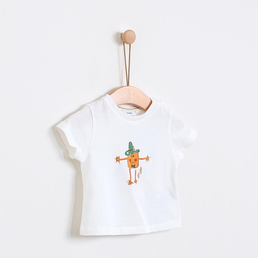 Straw man t-shirt