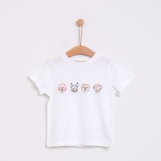 T-shirt cães