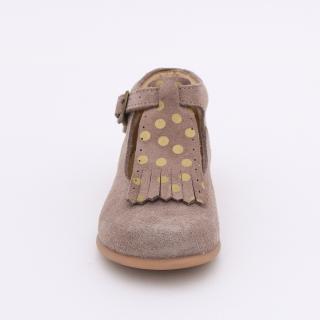 Pre-walker shoes  removable fringe tongues