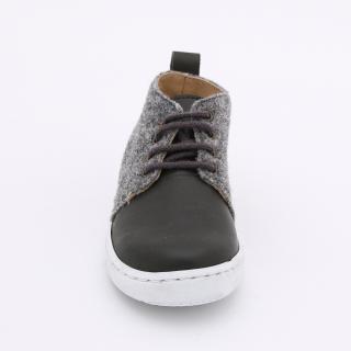 Felt sneakers
