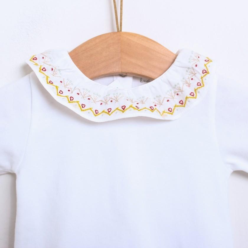 Body bordados geométricos