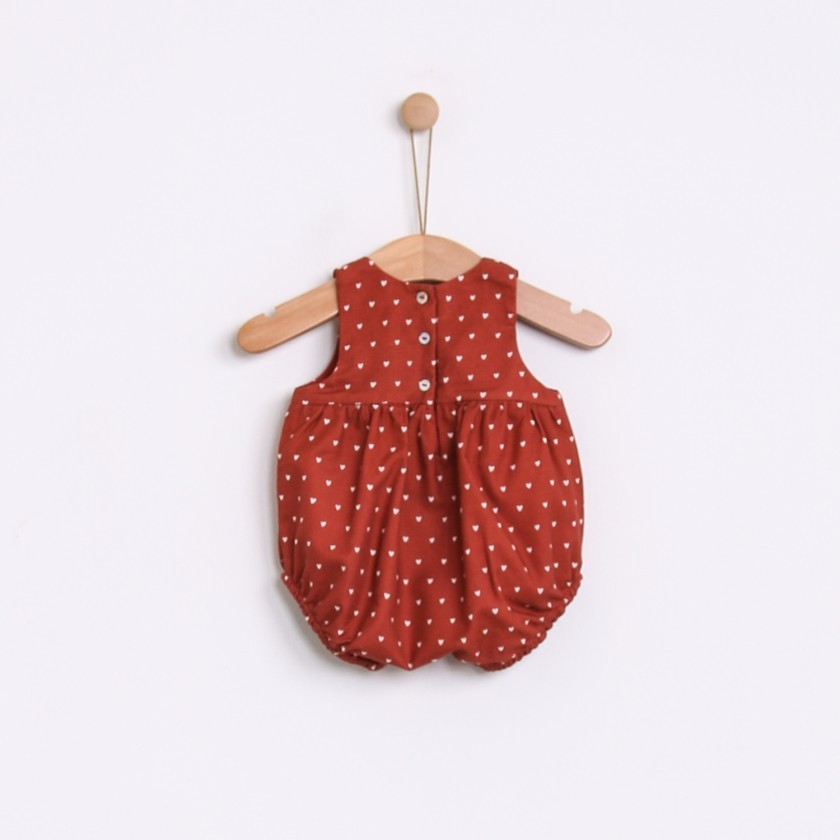 Tabasco Hearts Romper