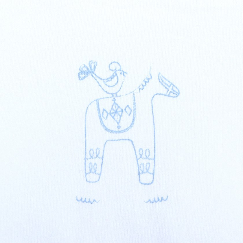 body tshirt  dala horse