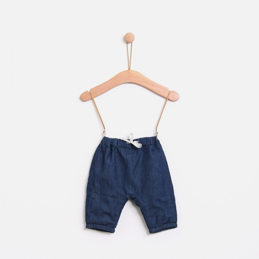 Denim Hygge baby pants