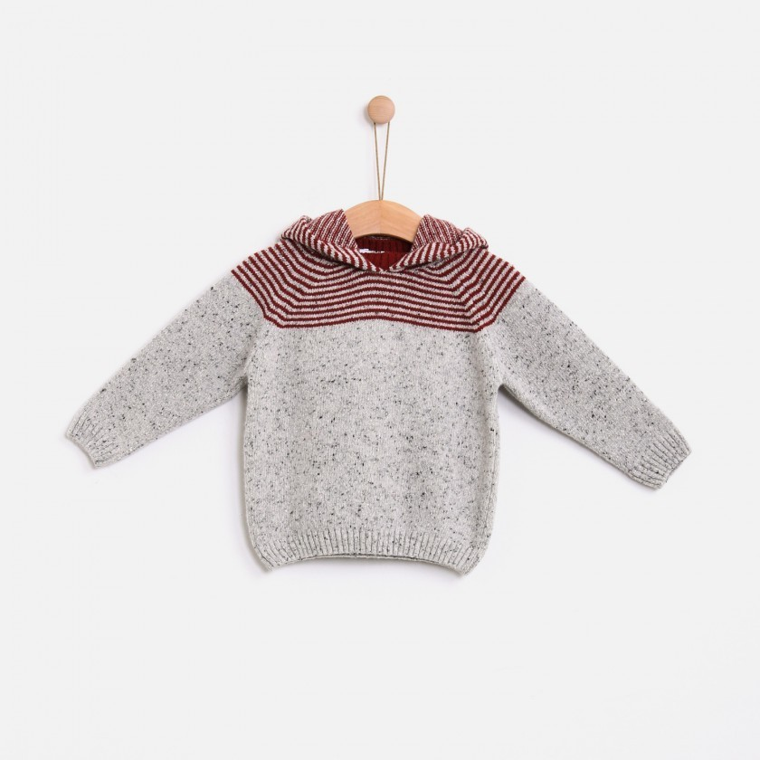 Camisola tweed stripes