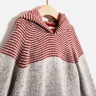 Camisola tweed stripes