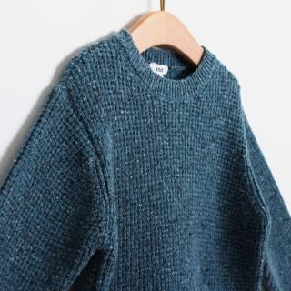 Tweed jacquard jumper