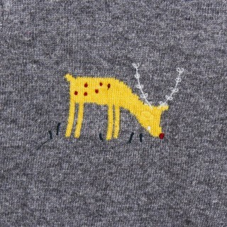 Tricot deer sweater