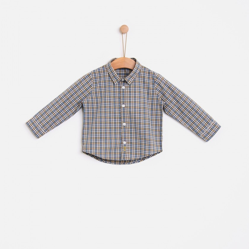 Scandic checks shirt