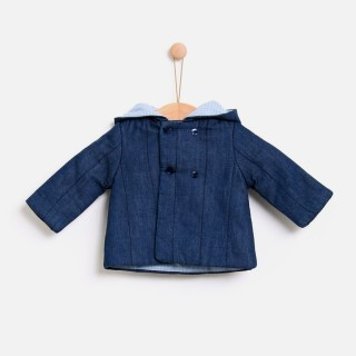 Hygge denim coat