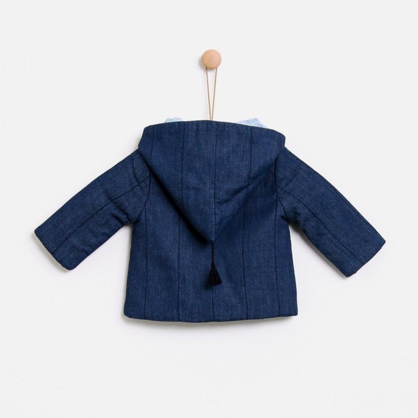 Hygge denim coat