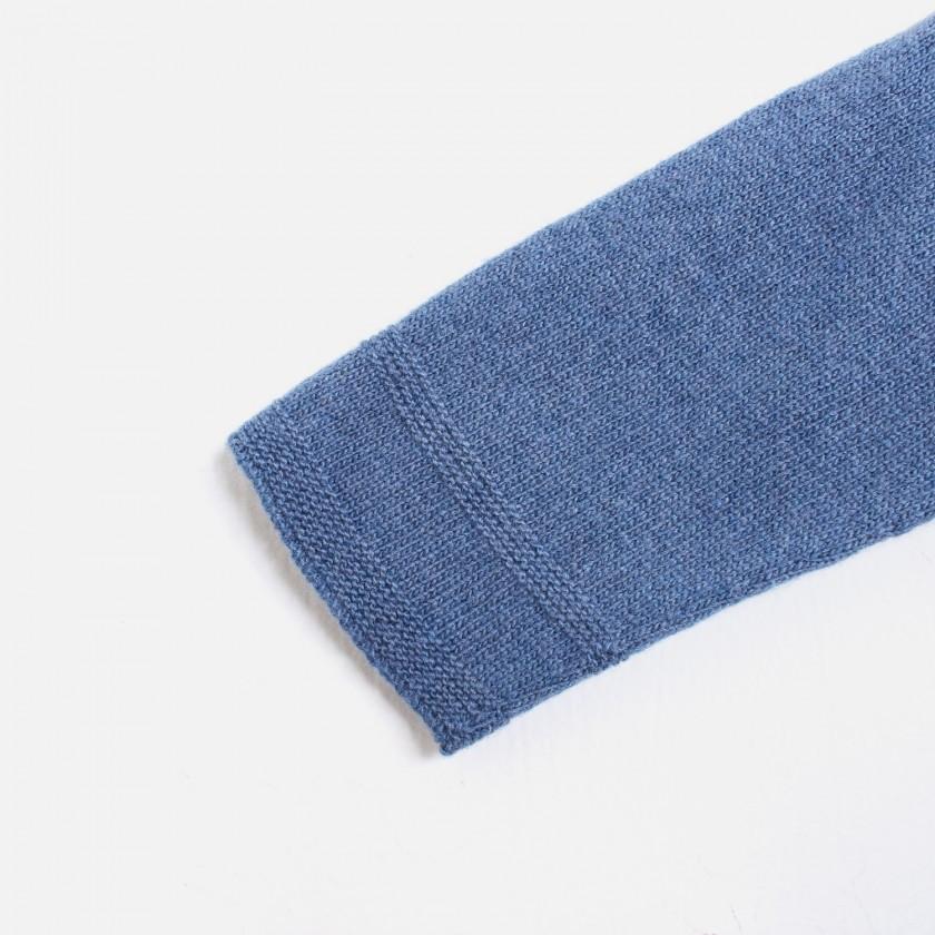 Casaco básico manga raglan