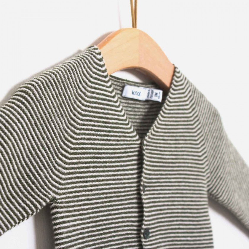Viking sea stripes cardigan