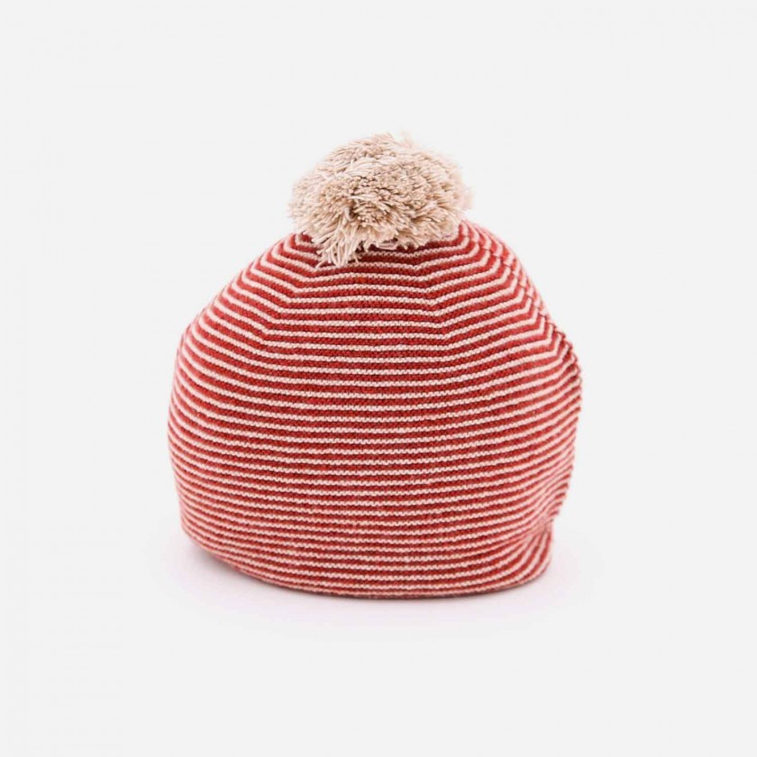 Gorro tricot viking love stripes