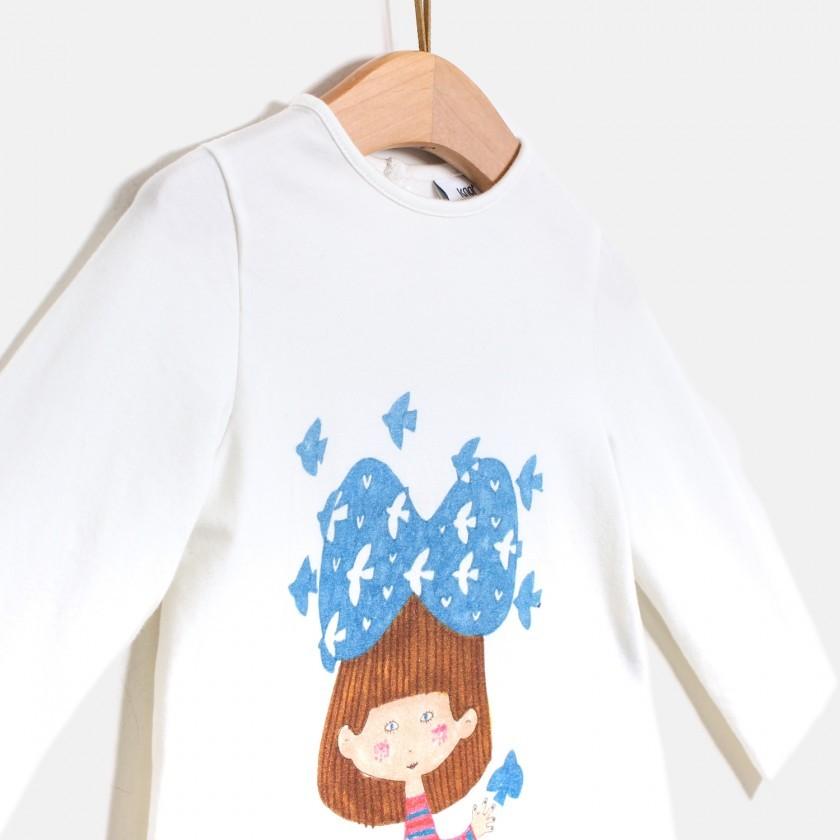 T-shirt Birds Head