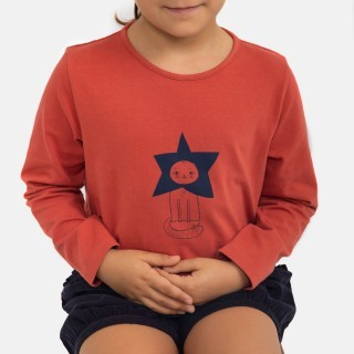 T-shirt Gato Estrela