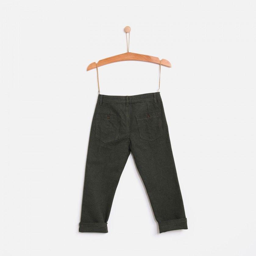 Boy trousers Island Checks