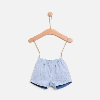 Baby shorts flannel Island Check