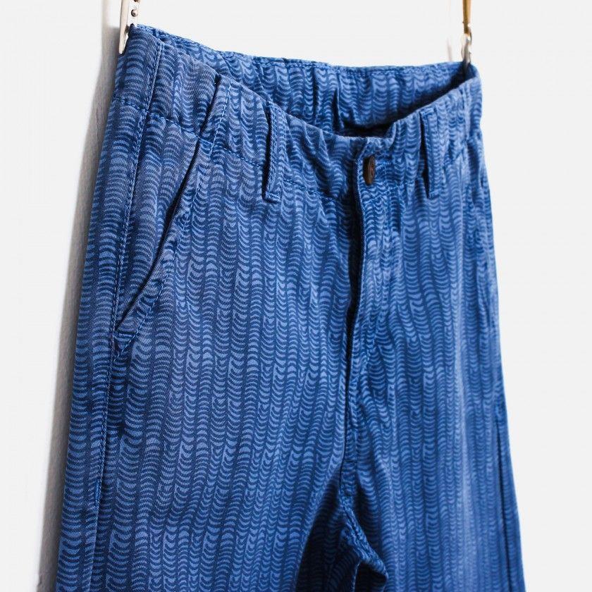 Boy trousers twill Waves