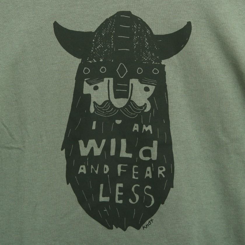 T-shirt wild beard