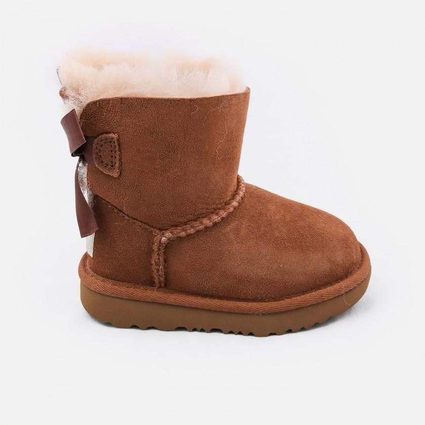 Ugg fur and lace boots