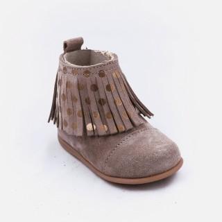 Pre-walker fringe boots