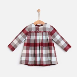 Vestido Jul checks