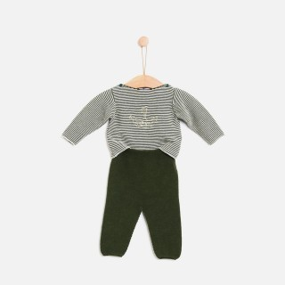 Set tricot viking sea stripes