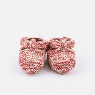 Botinhas recém-nascido tricot Viking