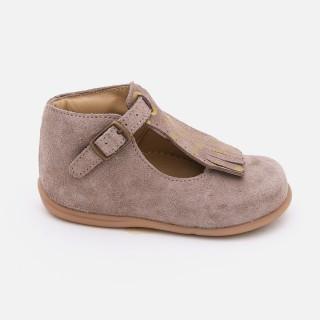 Sapatos pré-andante palas removiveis