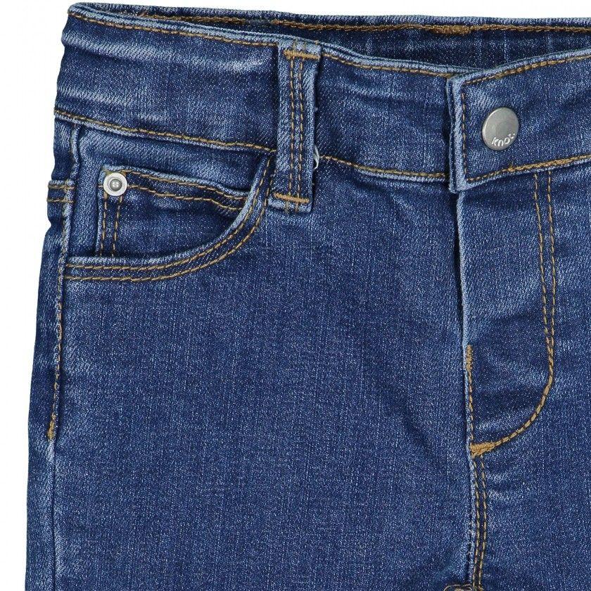Slim baby denim trousers