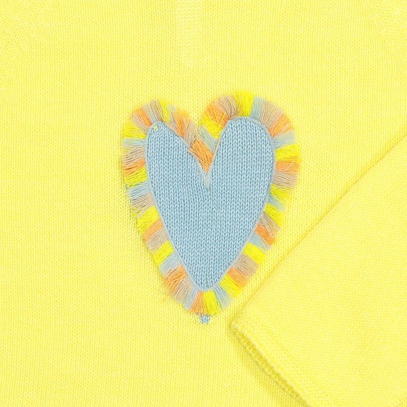 Camisola Tricot Coração