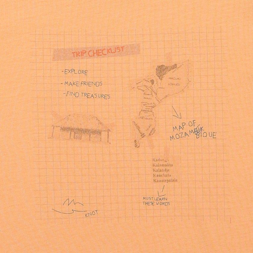 T-shirt mapa