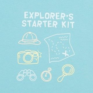 T-shirt explorer starter kit