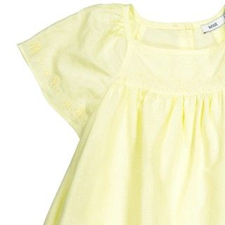 Vestido yellow elephants