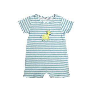 Barboteuse bebé algodão Zebra