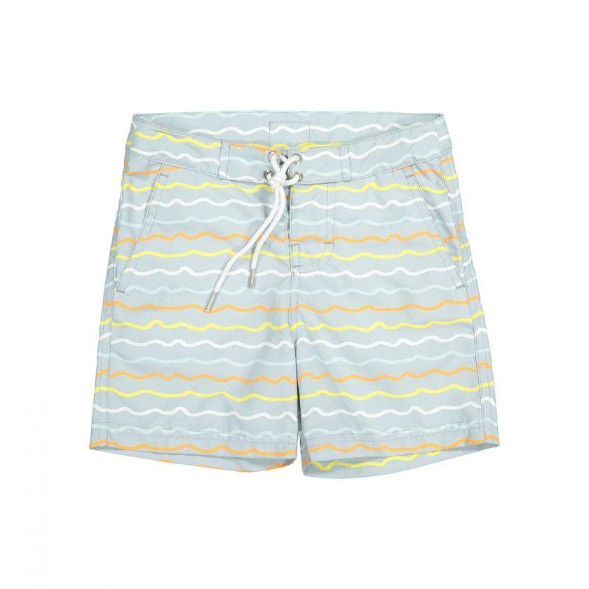 Savana animals swim shorts