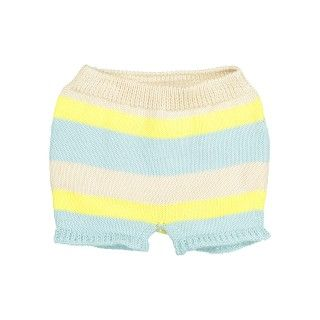 Striped Knitted Bloomers