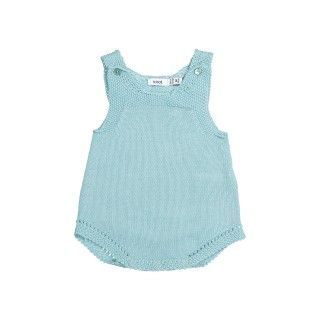 Knitted Romper With Ajours