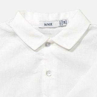 Body camisa gola bico manga comprida