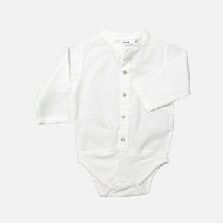 Short sleeve classic collar body