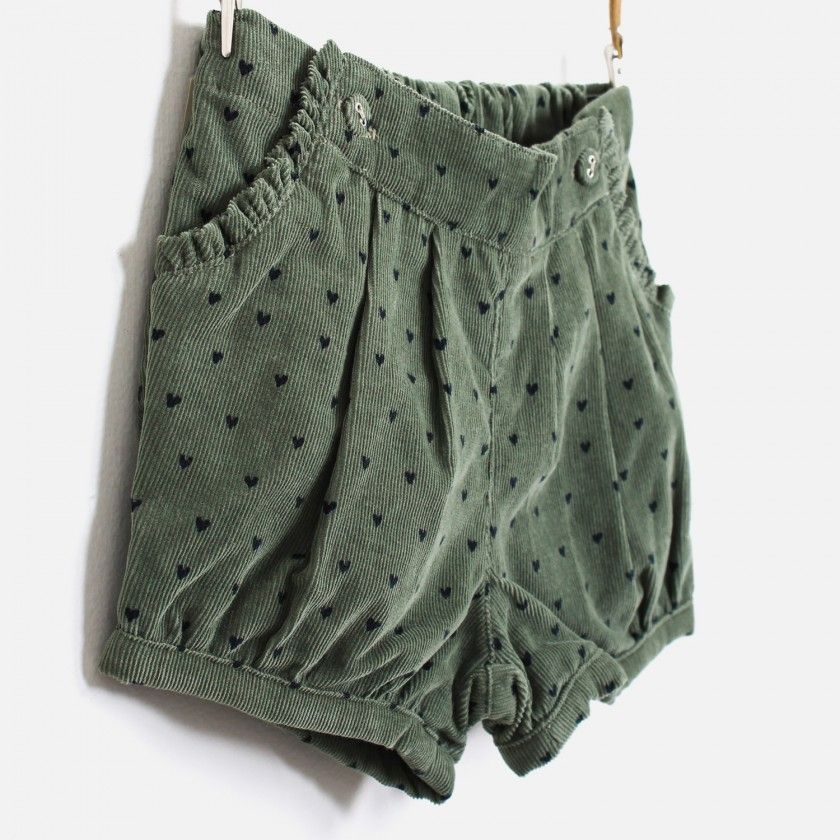 Baby shorts corduroy Sea Spray