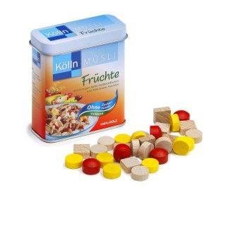 Brinquedo Madeira Erzy Cereais Kölln