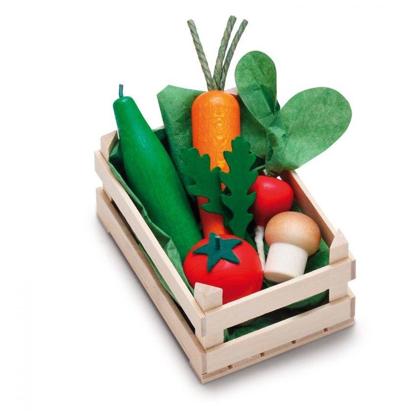 Beech Wood Erzy Assorted Vegetables