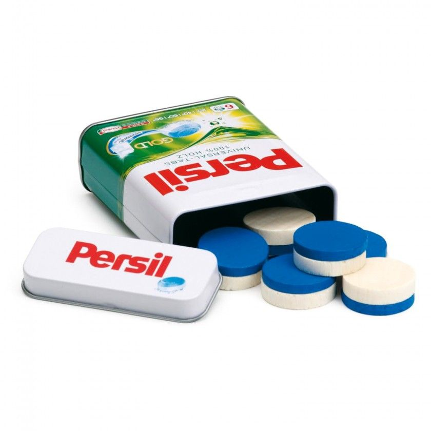 Brinquedo Madeira Erzy Detergente Persil