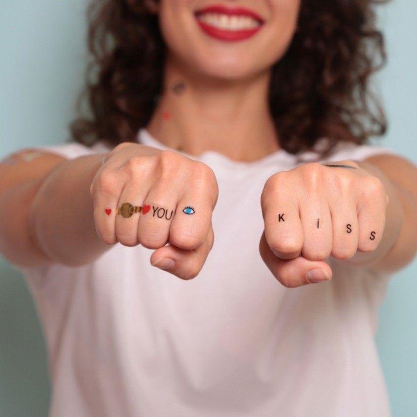 Tatuagens Temporárias Omy Letras